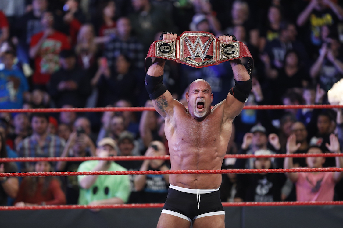 goldberg champion universal de la wwe