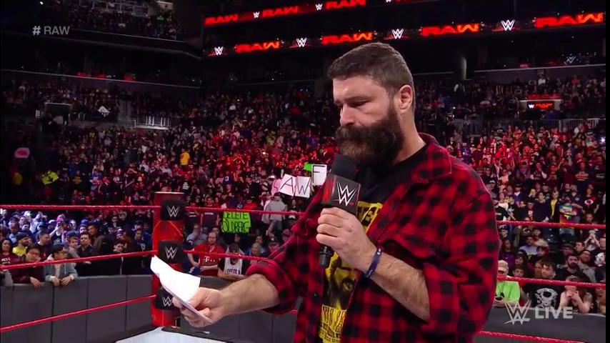 mick foley raw