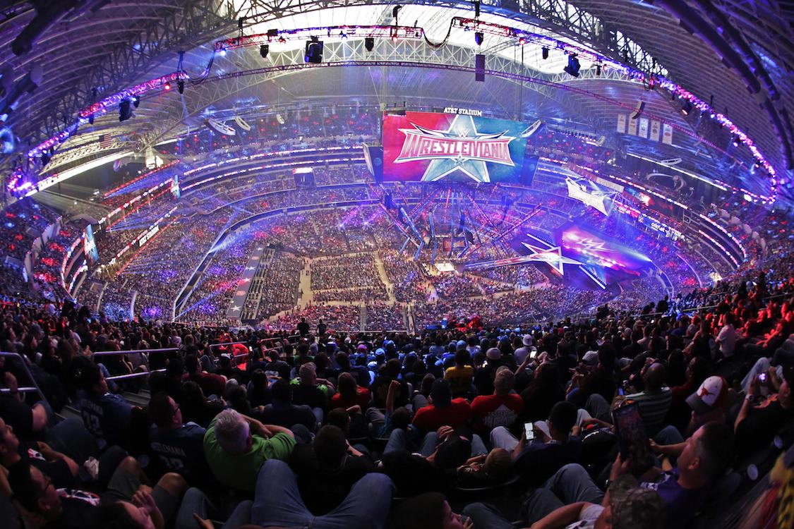 wrestlemania 32 att stadium
