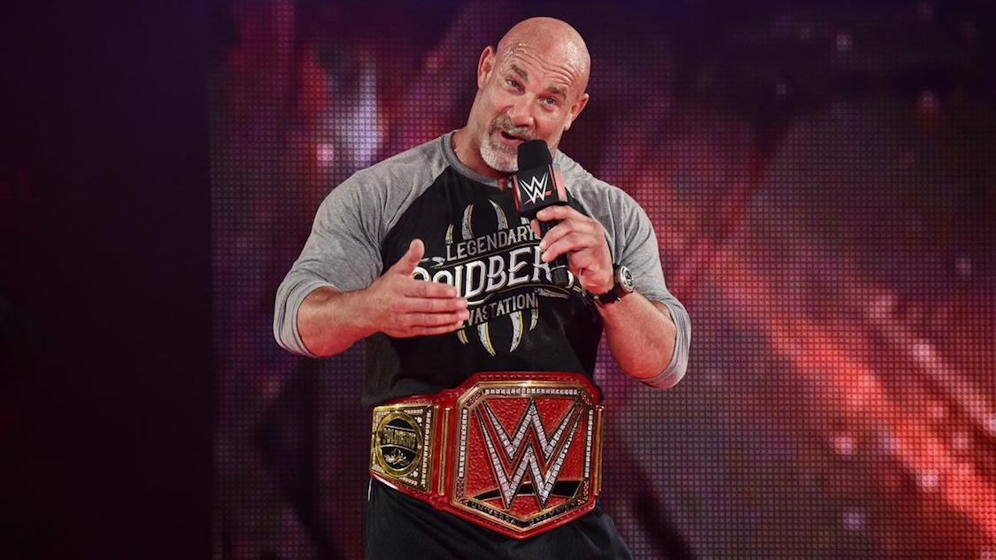 goldberg champion universal