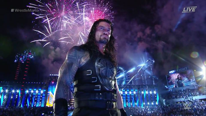 roman reigns wrestlemania 33