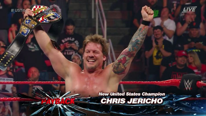 jericho payback raw