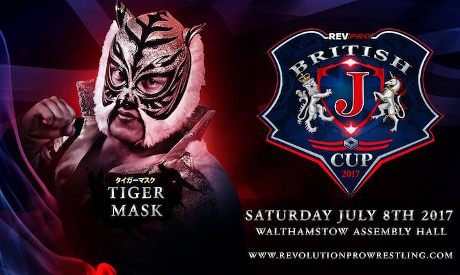 tiger mask british j cup