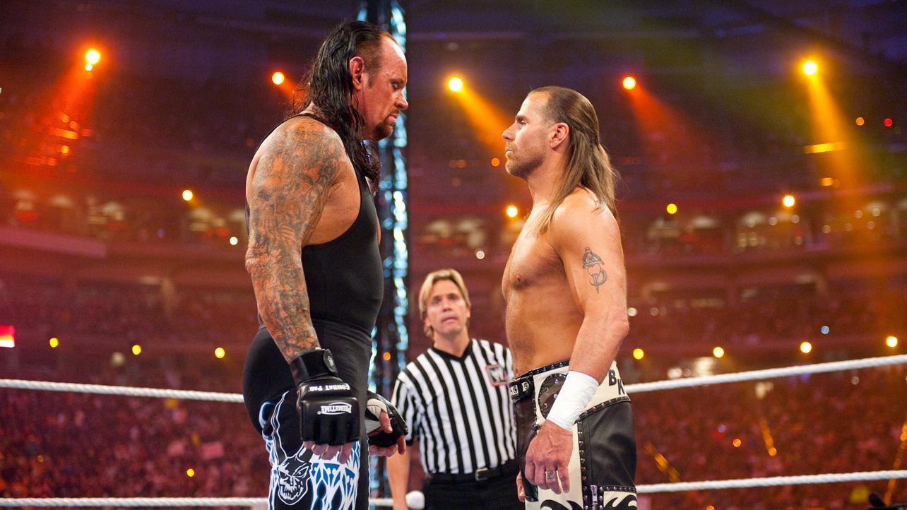 undertaker shawn michaels wrestlemania 26
