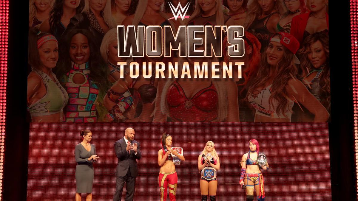 wwe tournoi feminin annonce