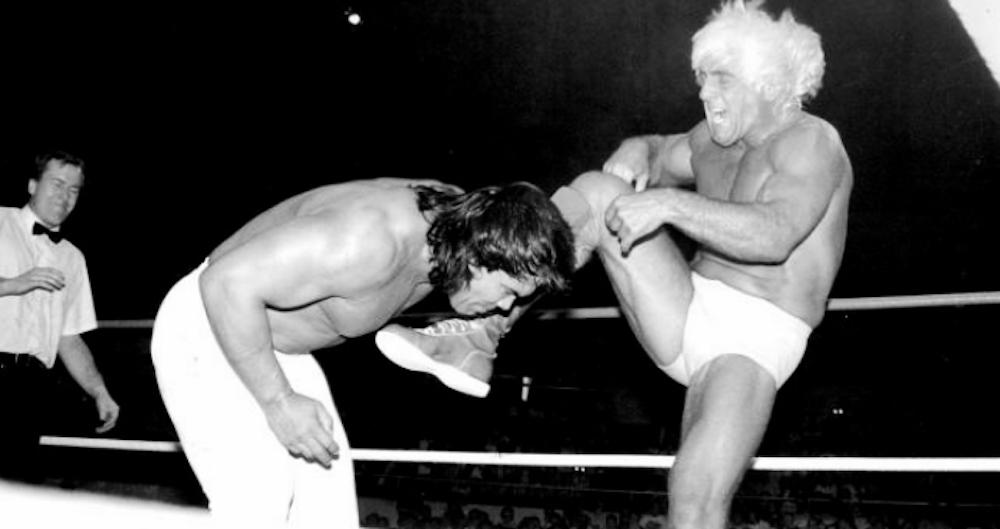 flair steamboat wrestlewar 89