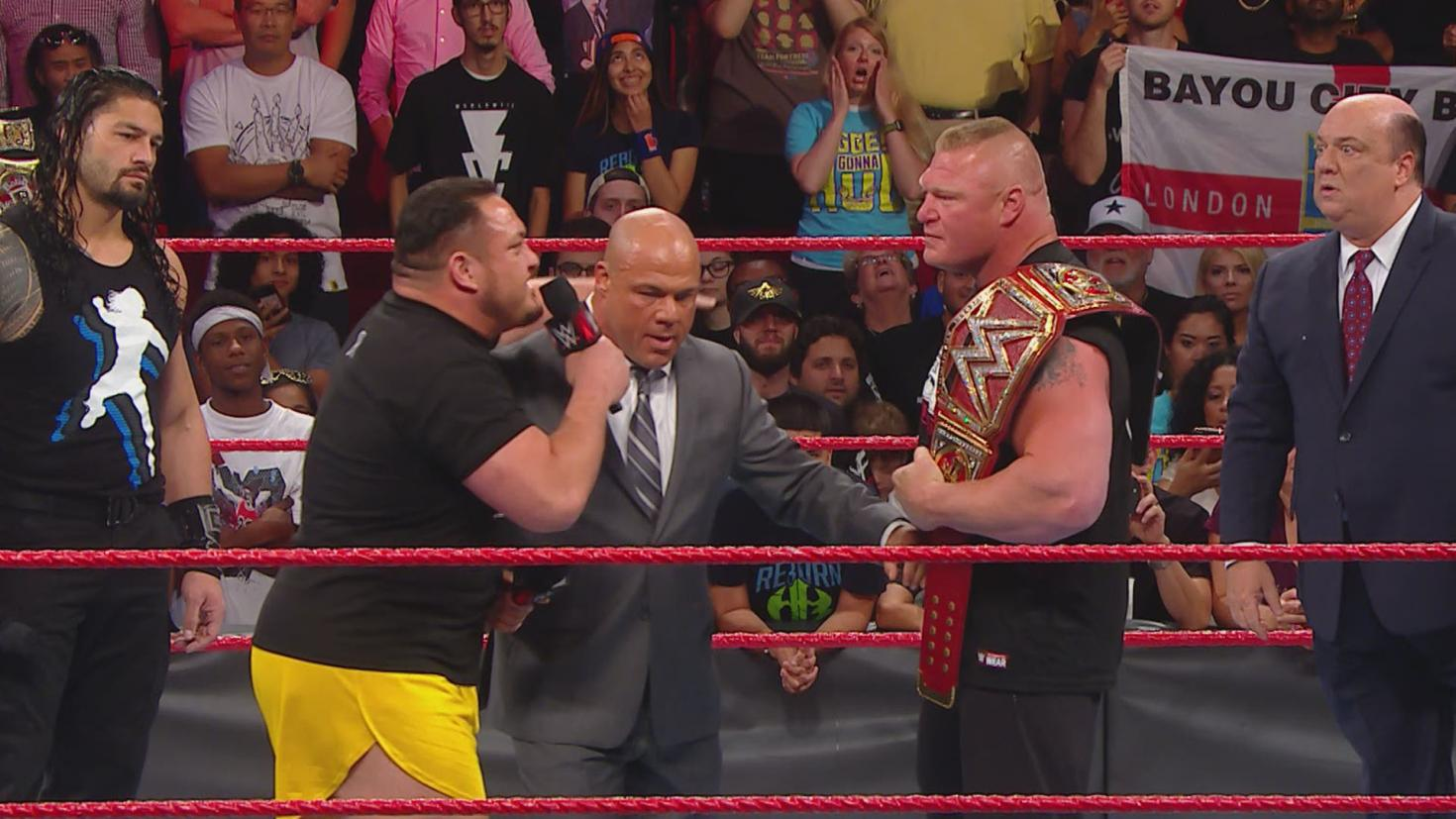 reigns joe lesnar heyman raw
