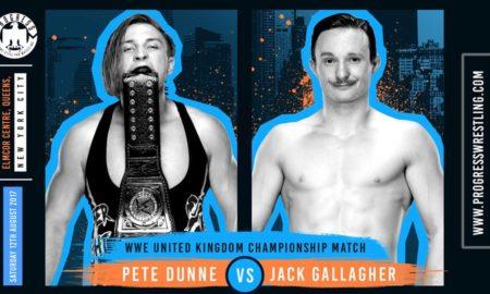Pete Dunne Jack Gallagher PROGRESS