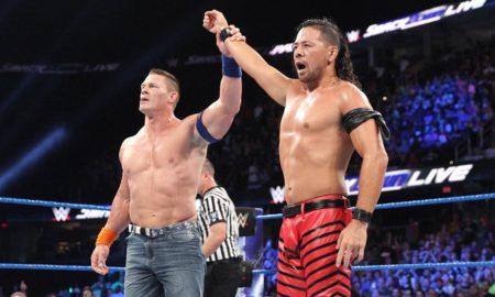 Smackdown Shinsuke Nakamura John Cena
