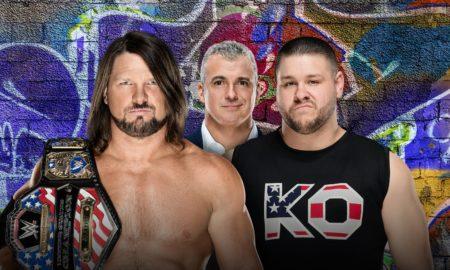 SummerSlam AJ Styles Kevin Owens