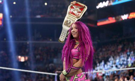 sasha banks championne raw