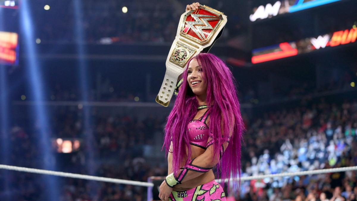 sasha banks championne raw