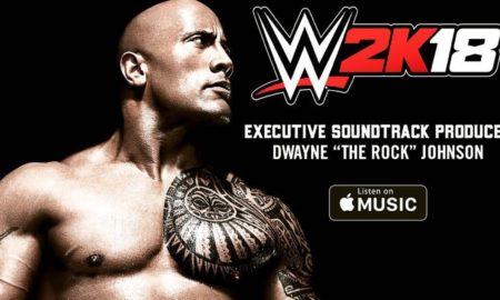 the rock wwe 2k18
