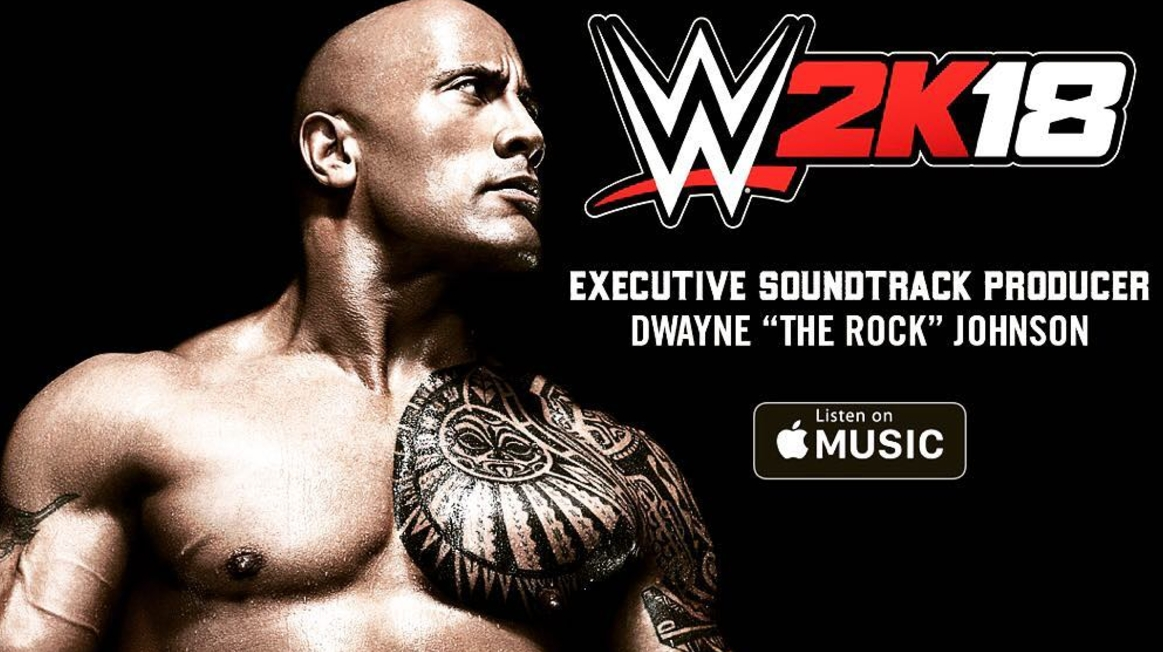 the rock wwe 2k18