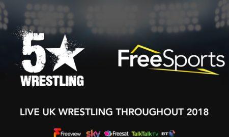 5 star wrestling free sport
