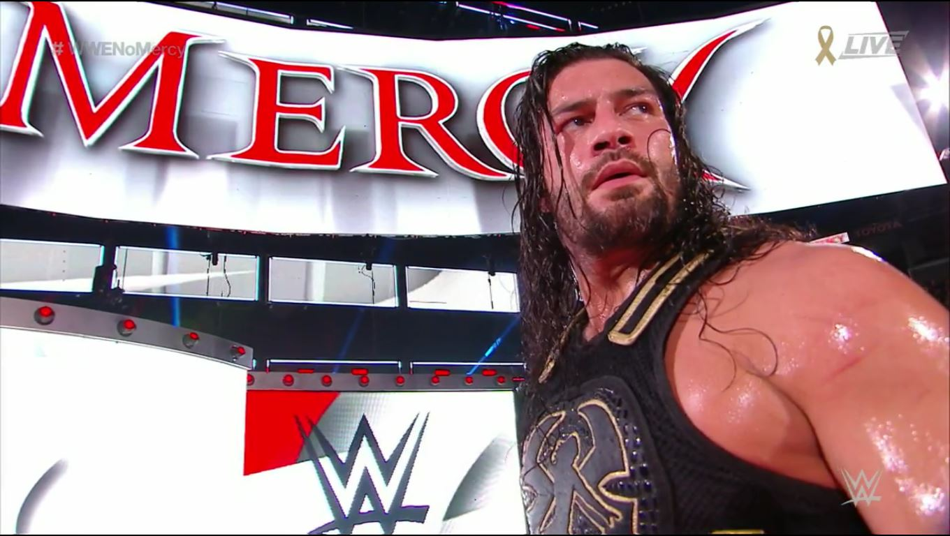 roman reigns wwe no mercy