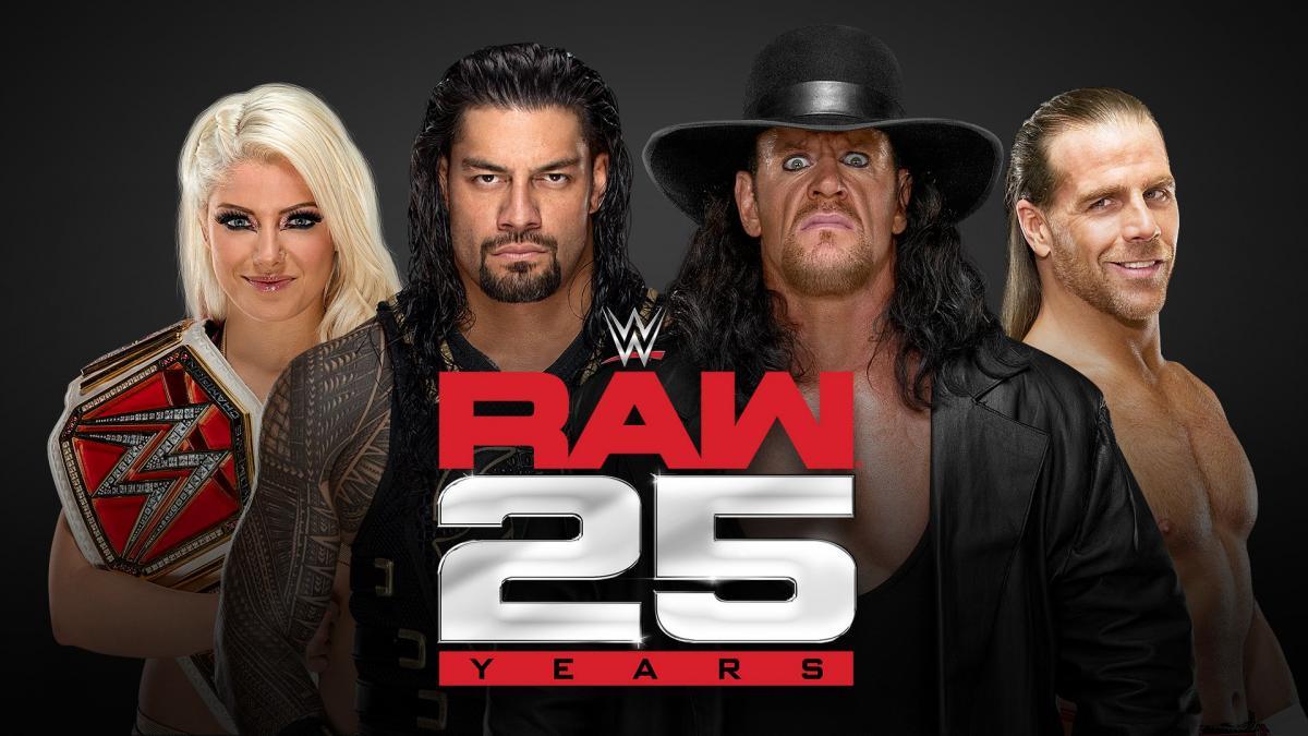 Raw 25 ans