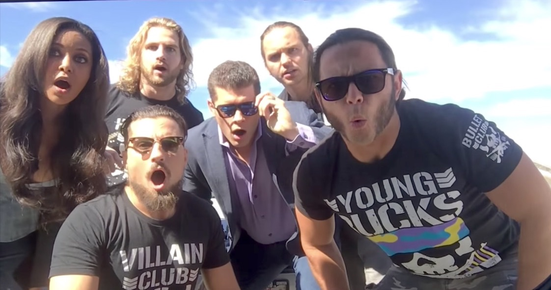bullet club being the elite raw