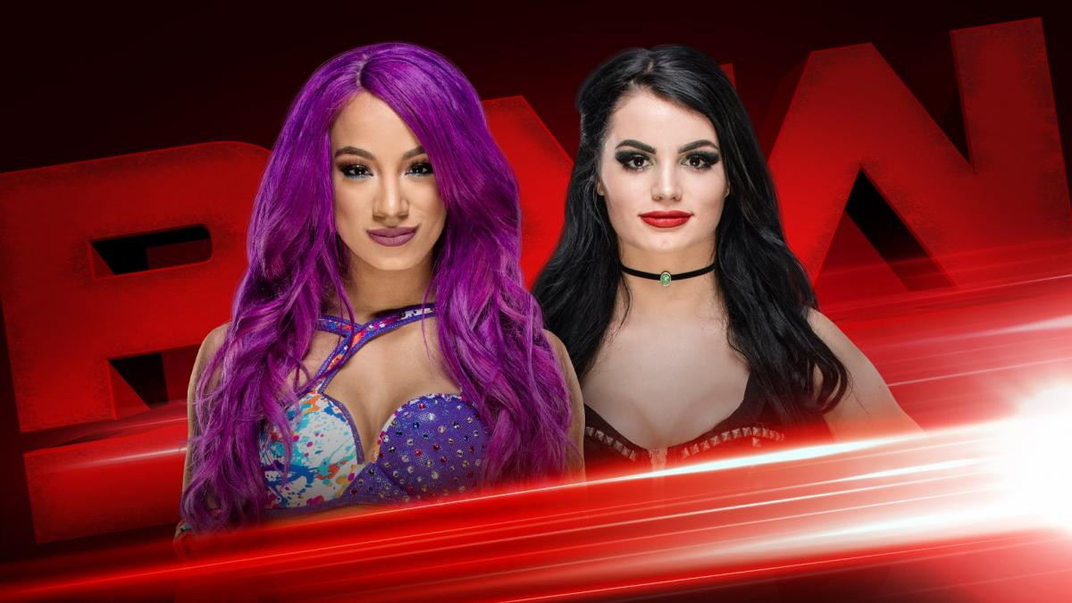 Raw Paige Sasha Banks