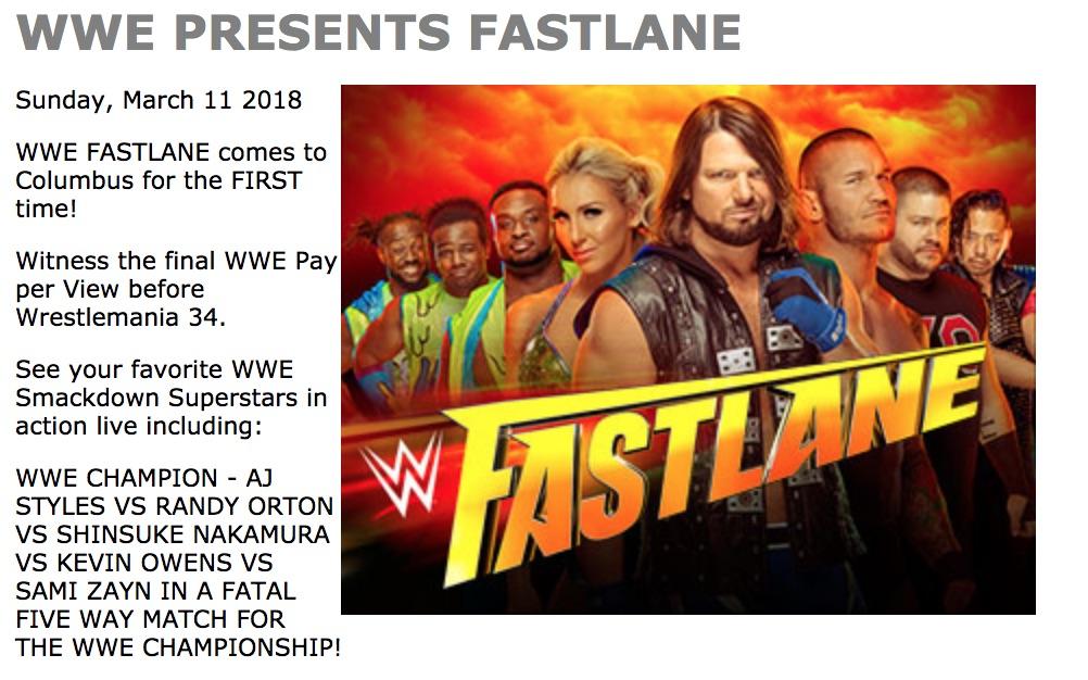 fastlane 2018 main event