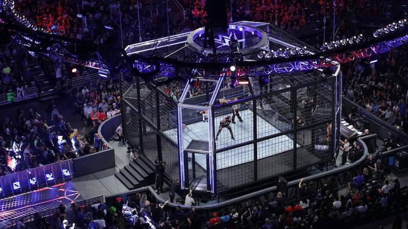 elimination chamber cage