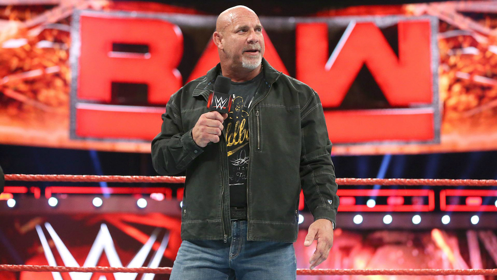 goldberg wwe hall of fame