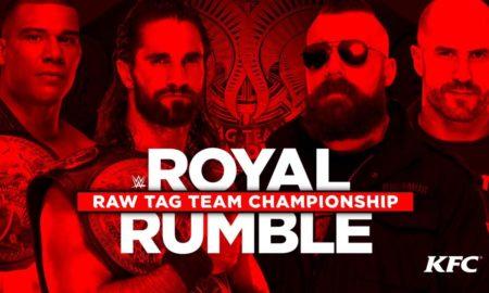 tag team raw rumble