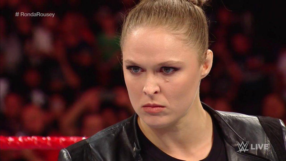 rousey raw