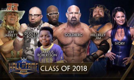 Hall of fame 2018 wwe
