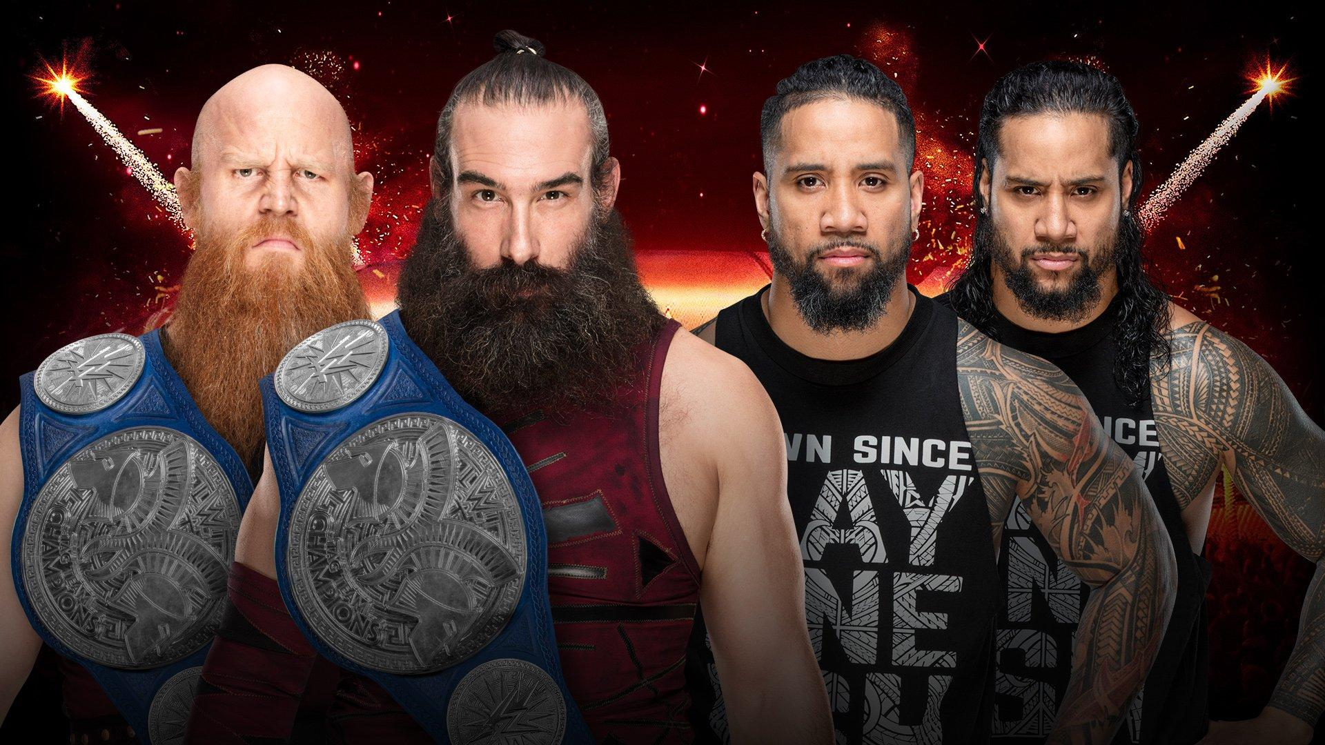 Usos Bludgeon Brothers WWE