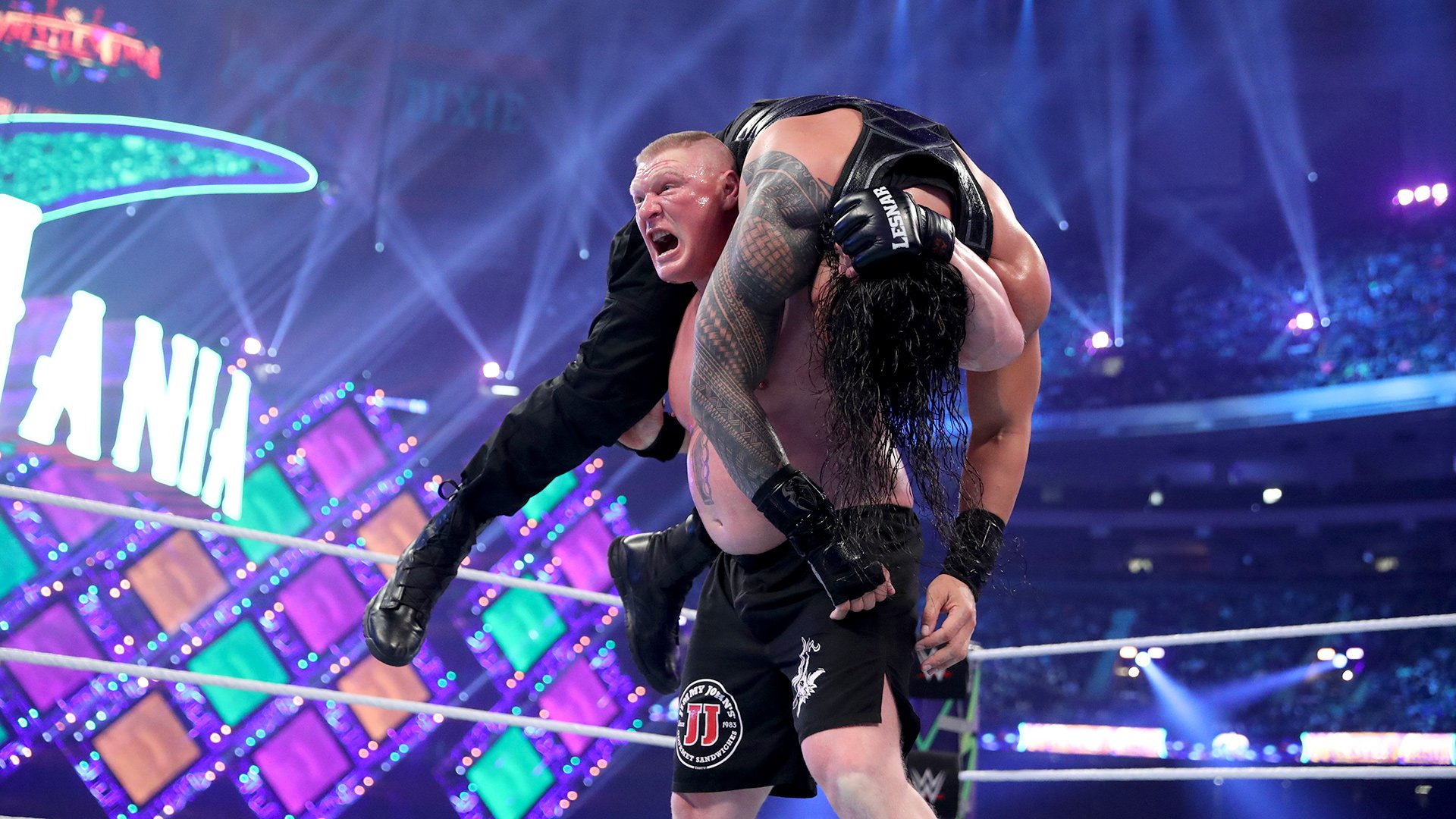 lesnar reigns wm