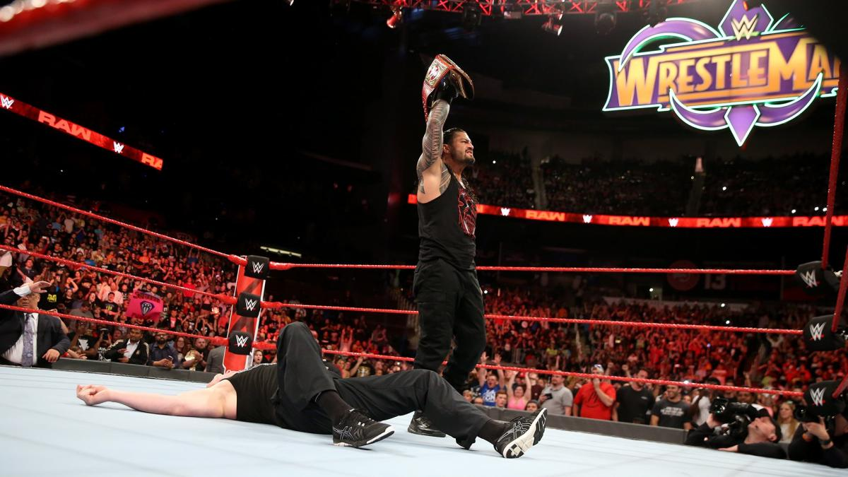 reigns universal title