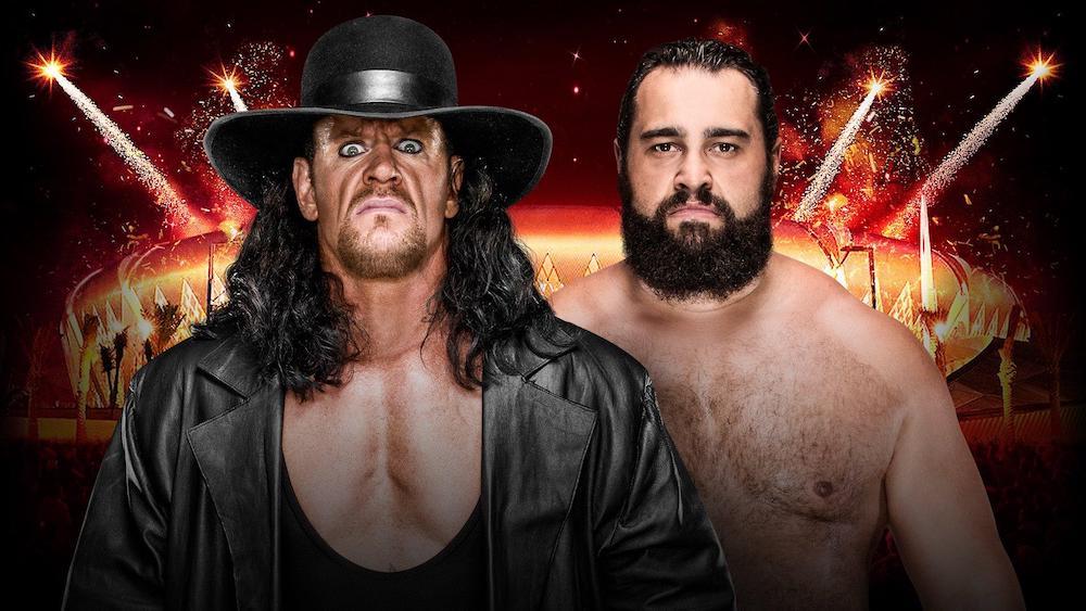 rusev undertaker
