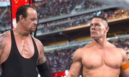 undertaker john cena wrestlemania