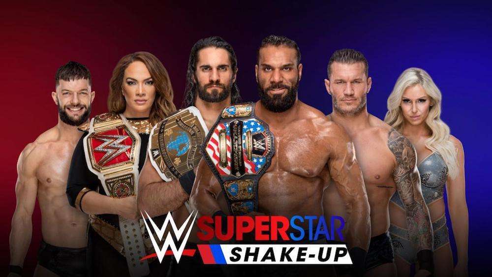 wwe superstars shake up 2018