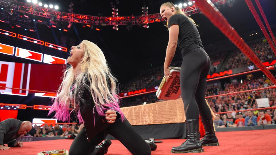 raw bliss rousey