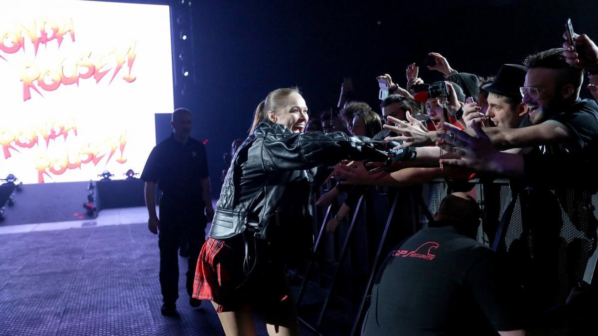Ronda Rousey à WWE Paris