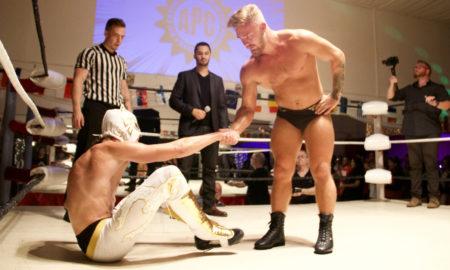 aigle blanc tyler bate apc luchamania ii