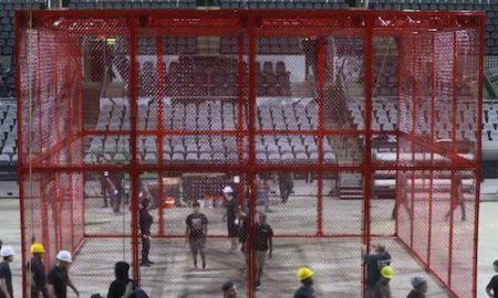 hiac cage rouge