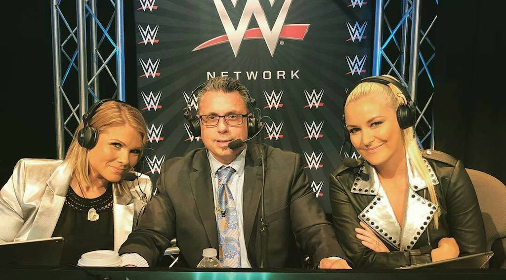 renee young michael cole beth