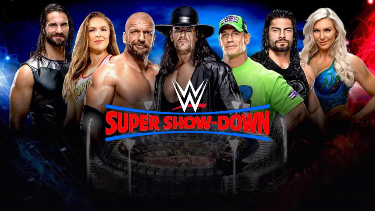 super show down wwe