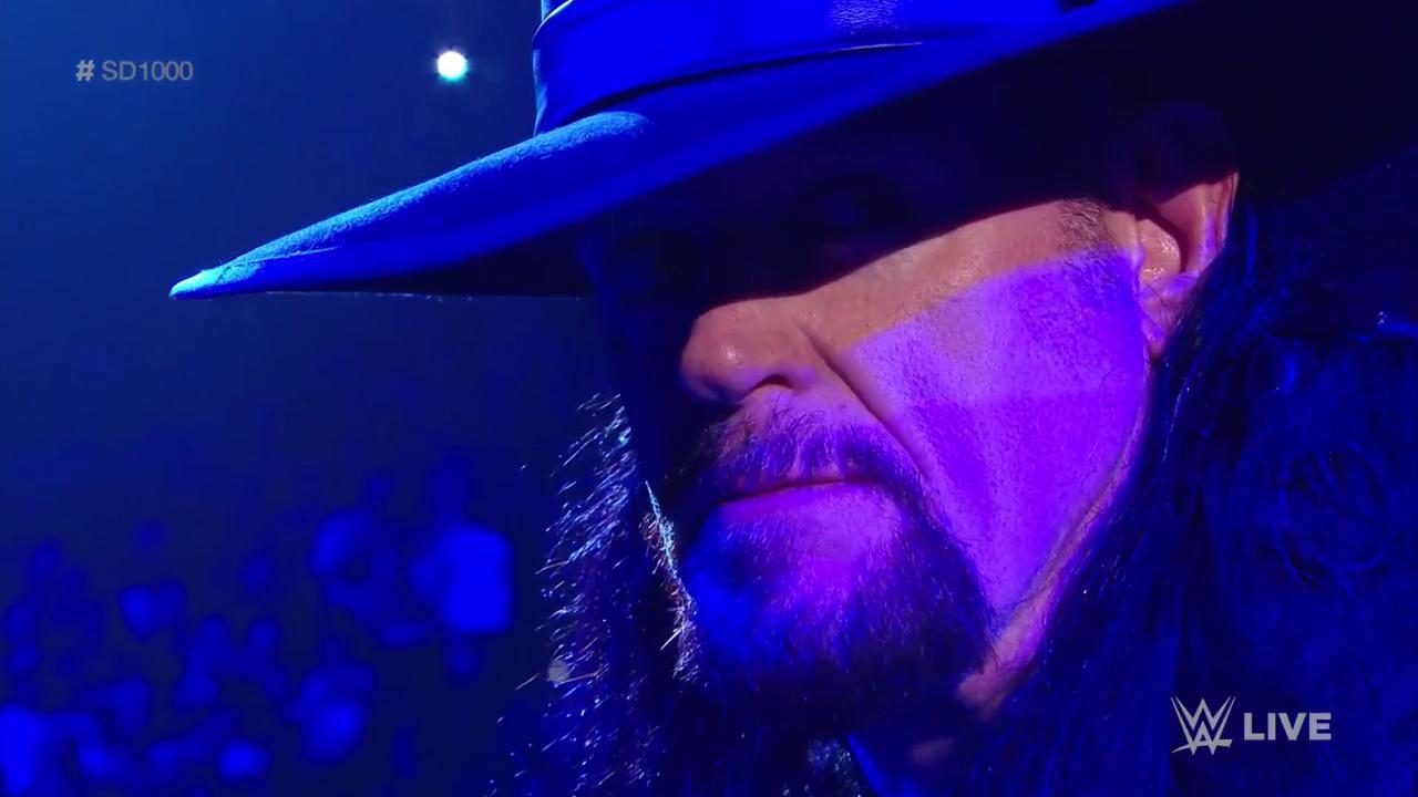 undertaker smackdown 1000
