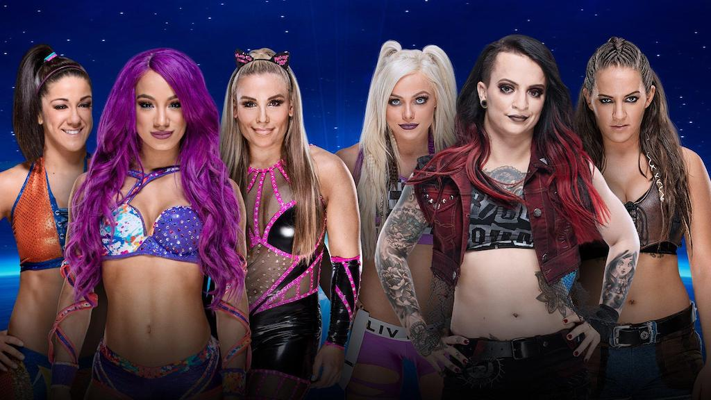 wwe evolution sasha banks bayley natalya riott squad