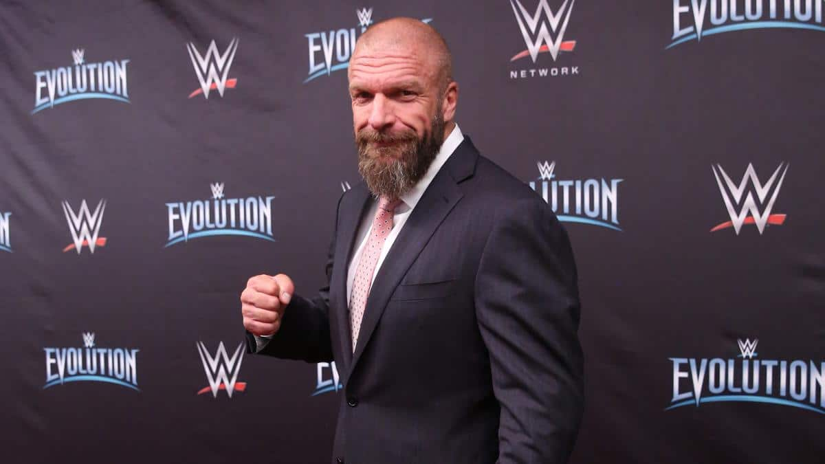 triple h wwe evolution
