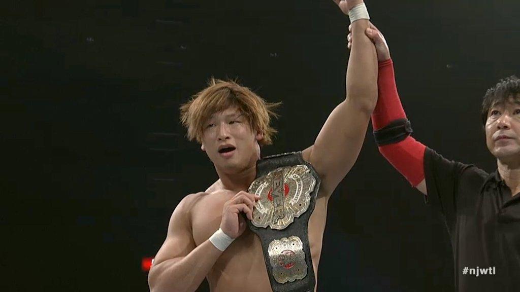 kota ibushi never openweight champion