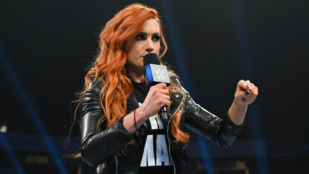 Becky Lynch the man wwe