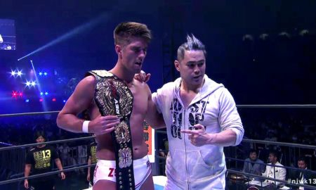 zack sabre jr wrestle kingdom