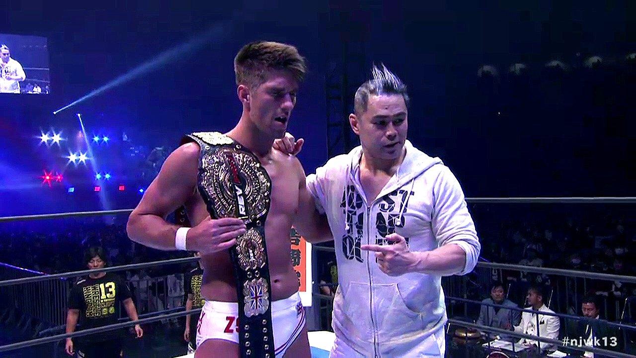 zack sabre jr wrestle kingdom