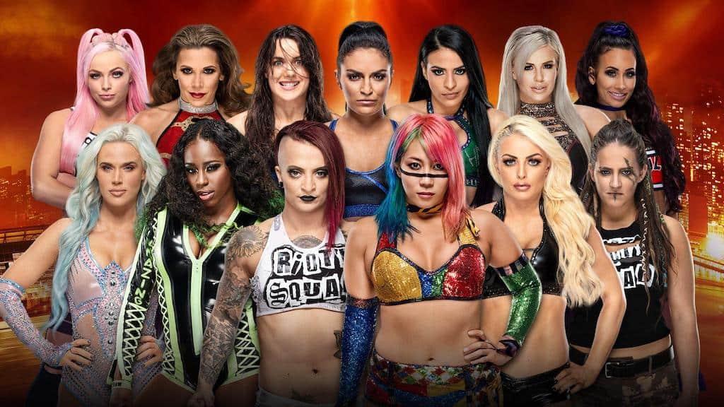 bataille royal feminine wrestlemania