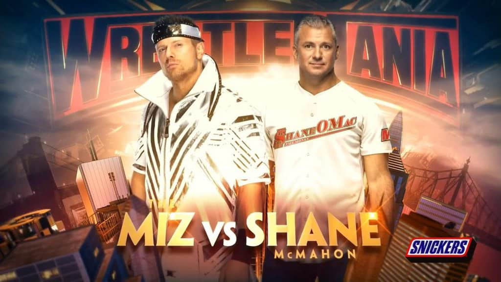 the miz shane mcmahon wrestlemania